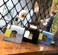 çanta için yeni stiller toptan satış-2019 İlkbahar / yaz Klasik yeni stil Moda Kadınlar Tasarımcı Çanta Çantalar Cüzdanlar Omuz çantası Çanta mini boyutu