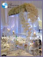grandes peças centrais do casamento venda por atacado-Novo estilo de alta qualidade peças centrais do altar de casamento de cristal para casamentos, grande evento decoração decor306