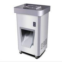 vertikale schneidemaschine großhandel-Elektrische fleischschneidemaschine professionelle edelstahl industrielle gefrorene fleischschneider vertikale fleischschneidemaschine 300 KG / H