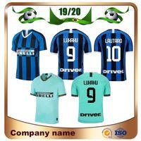 ingrosso jersey blu 19-2019 Milan LUKAKU Soccer Jersey 19/20 home Blu ICARDI Soccer Shirt Away JOVETIC PERISIC CANDREVA J.MARIO divise calcio away