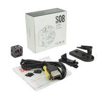 video sonnenbrille großhandel-Sicherheitsüberwachung Tragbare Mini Kamera SQ8 HD 1080P Sport Mini DV DVR Bewegungserkennungs Kamera IR Nachtsicht Digital Kleiner Camcorder