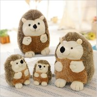 Wholesale cute animals for kids resale online - Soft Hedgehog Plush Toys Kawaii Animal Plush Toy Doll ome Decoration Gift for Kids Girls Dolls Toys Cute Animal Plush Toy Doll KKA7290