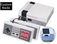 Wholesale video games 16 bit resale online - 20pcs Custom Made HDMI Mini Games Console Video Player Can Store Bit NES Family Gift Cradle Desgin