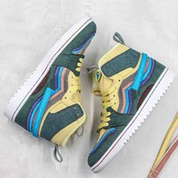 Wholesale shoe sticks resale online - 2019 New Arrival Magic Stick Rainbow Corduroy Sean Wotherspoon X Basketball Shoes Sport Sneakers For Men