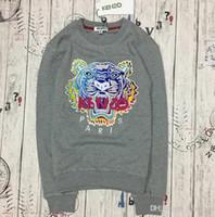 ingrosso y hoodie-Y-3 ricamo di alta qualità testa di tigre uomo donna con cappuccio hip hop da jogging pullover moda sportiva streetwear con cappuccio Harajuku