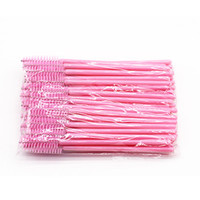 Wholesale lip wands resale online - Disposable Eyelash Brush Lip Brush Lash Extension Mascara Applicator Eyelash Brushes Mascara Wands Cosmetics Make Up Tool