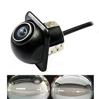 Wholesale universal car front view camera for sale - Group buy 180degree CCD HD night vision car camera auto reversing rear view Front view Side camera for Universal waterproof