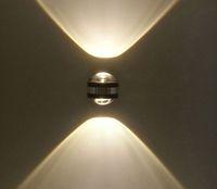 aşağı led led duvar lambası toptan satış-Yukarı duvar lambası modern kapalı otel dekorasyon led duvar ışık oturma odası yatak odası başucu lambası TV arka plan resim lambaları