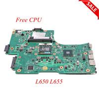 Wholesale laptop motherboards satellite for sale - Group buy NOKOTION Laptop Motherboard For Toshiba Satellite L650 L655 A2332402 V000218080 V000218010 HM55 UMA MAIN BOARD DDR3 Free CPU
