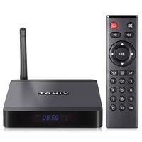 ingrosso bluetooth 4.2-TX5 Max TV Box Android 8.1 Amlogic S905X2 Smart TV Box Quadcore Dual Band 5G Wifi Supporto 1000M Lan Bluetooth 4.2 HDMI2.1 USB3.0 Set Top Box