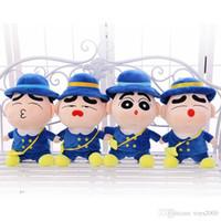 muñecos de juguete grandes para niños al por mayor-Súper Gran muñeco de peluche 35cm lindo juguete mejor regalo al por mayor regalo de cumpleaños Pareja Shinchan Los animales de peluche muñeca de los niños