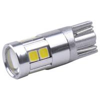 1156 luzes reversas led venda por atacado-Luzes da placa de licença do diodo emissor de luz Luzes de afastamento Canbus Lâmpadas de leitura da abóbada à prova d 'água T10 9SMD 3030 Lâmpadas de reversão Branco