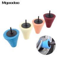 Wholesale buffing metal for sale - Group buy 1Pc Burnishing Foam Sponge Polishing Cone Shaped Buffing Pads For Car Wheel Hub Care Metal Pad Soft Type Car Cleaning Wax Tool