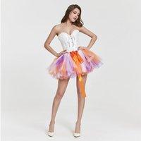 trajes de baño de moda faldas al por mayor-2019 moda de verano multicolor traje de baño para mujer ropa de playa vestido de princesa mujer ropa sin mangas playa falda traje de baño