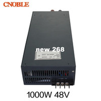 fuente de alimentación de ca dc 48v al por mayor-Freeshipping Fuente de alimentación de conmutación de salida única de 1000W 48V 20A 110V de entrada para luz de tira de LED AC a DC