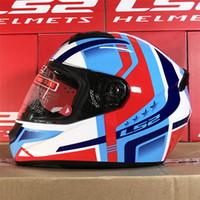 Wholesale ls2 helmet size l for sale - Group buy LS2 Motorcycle Full Face Helmet FF352 Rookie Men Women Helmets Capacetes Moto Cascos Size M L XL XXL