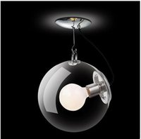 Wholesale bubble glass ball chandelier for sale - Group buy Glass Hanging Pendant lamps Bubble Ball Soap Chandelier Simple Living Room Coffee Bar Droplight Hallway Balcony Ceiling lamps