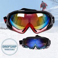 Wholesale snowmobile eyewear for sale - Group buy MARSNOW Winter Ski Goggles Windproof Snowboard Eyewear UV Protection Women Men Snowmobile Skiing Glasses Single Coating Lens