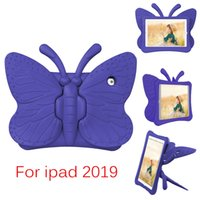 Wholesale animal tablet cases resale online - Butterfly EVA Stand Kids Children Foam Case For Apple Ipad mini Shockproof Cover Tablet Case