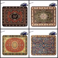 Wholesale priced laptops resale online - Mairuige Persian Carpet Best Price Black Rubber Print Mouse Mat Laptop Computer Gaming Mice Pads For Optical