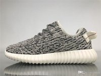 d02f0bfd5 2019 Authentic Boots 350S Kanye West Turtle Dove Blugra White AQ4832 Men  Running Shoes Moonrock Agagra Sneakers Sports With Original Box