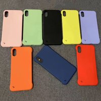 funda movil color caramelo al por mayor-Anti-caída Funda para teléfono móvil Sin borde Funda para teléfono Funda de iPhone en color caramelo para iPhone Xs Max Xr Xs Envío gratis
