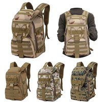 Wholesale tactical art for sale - Group buy 4 Styles Camping Trekking Bag Outdoor Camo Mountaineering Bags p Military Tactical Backpack Breathable Waterproof Rucksacks Hiking Bag M40F
