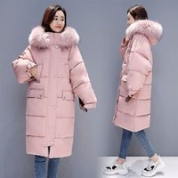 4b60b2b8148 2018 New women high quality and fashion Coats long Winter Jackets parka coats  Outerwear for lady