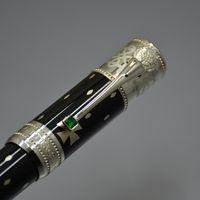 rollen setzen großhandel-Luxus Limited Edition Elizabeth MB Gelschreiber Schreibwaren Bürobedarf Top-Qualität Metall schreiben Marke Geschenk Kugelschreiber mit Set-Box-Option