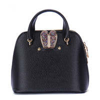 Wholesale rabbit ears cell phone online – custom Lovely2019 Rabbit Ears Shell Competitive Products Ma am Mini Handbag Single Shoulder Span Woman Package