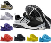 Wholesale air sneaker sale for sale - Group buy Sales New Presto Men Women Run Running Shoes Designer Air Cushion Prestos Ultra BR QS Yellow Black White Oreo Sports Tn Sneakers