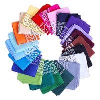 Wholesale multifunctional head scarf bandana resale online - Paisley design stylish magic ride magic anti UV bandana headband Towel hip hop multifunctional bandana Outdoor Head scarf Free AHC829