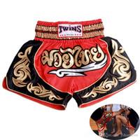 calças curtas artes marciais venda por atacado-pantalonetas htsportsstore novíssimo MMA Shorts muay calções de boxe thai pantalon Boxeo collants lutar shorts de fitness para crianças Homens