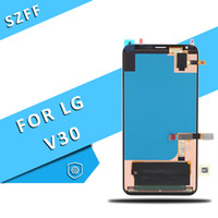 Wholesale lg inch lcd resale online - Origiinal for LG V30 H930 LCD Display Touch Digitizer inch Screen Test One by One