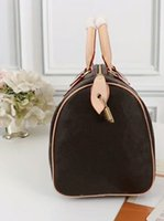 Wholesale handbags styles shoulder shapes for sale - Group buy 2019 new AAA High quality oxidize cowhide speedy cm cm cm Hot Sell Fashion bag women bag Shoulder Lady Totes handbags bags stamping