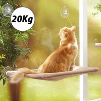 Wholesale hung windows for sale - Group buy Cute Pet Hanging Beds Bearing kg Cat Sunny Seat Window Mount Pet Cat Hammock Comfortable Cat Pet Bed Shelf Seat Beds T200101