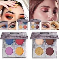 Wholesale makeup pallette resale online - Pudaier Eye Makeup Colors Matte Nude Eye shadow Palette Lasting Shiny Glitter Eye shadows Pigment Eyeshadow Pallette