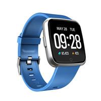 pulseras deportivas para niños al por mayor-Y7 Pulsera Inteligente Presión Arterial Oxígeno Sport Fitness Tracker Reloj Monitor de Ritmo Cardíaco Pk Fitbit Versa Mi banda 3 115 Plus