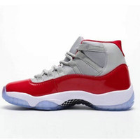 Wholesale good running shoes for women for sale - Group buy 2019 New Arrival Jumpman XI great Lord Grey Red Sports Basketball Shoes for Good quality Mens Sneakers Trainers SIZE