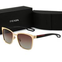 gafas de sol de diseño 62mm al por mayor-0120 Miuccia Hombres Mujeres Tendencia de moda Gafas de sol polarizadas 62mm Lentes 6 Gafas de sol de color Estilo caliente Tendencia de moda Diseñador de gafas de sol