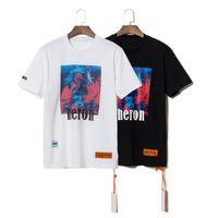 Wholesale woman white t shirt for sale – custom Heron Preston T Shirt Fashion High Quality Designer T Shirt Heron Preston Men Women Street Style Casual Short Sleeve HP Hip Hop Tees