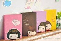 planificateurs de poche achat en gros de-Vente en gros - Livraison gratuite! Vente en gros, nouvelle mode - Lovely Girl Girl Notebook / pocket book / planner / agenda book