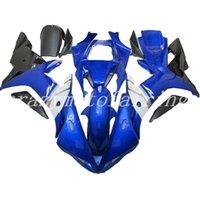 ingrosso yzf r1 blu-Kit di carenature in plastica per motocicli Mould ABS ABS per YAMAHA YZF-R1-1000 2002-2003 02 03 set di carenature di buona qualità blu