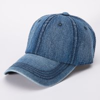 Wholesale korean baseball cowboy hat for sale - Group buy Men Women Fashion trend cowboy Caps Peaked Hat Hip Hop Curved Strapback Snapback Baseball Cap Womens Visor Hat Korean Style