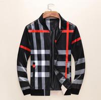 avrupa adamı uzun ceket toptan satış-Avrupa Paris yeni tarzı tasarım ceketler uzun Erkek Ceket Moda Marka rüzgarlık erkek spor ceket ceket kol