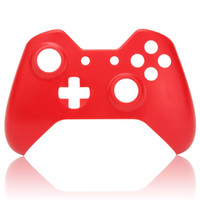 Soft Touch Front Housing Shell Faceplate Replacement for Xbox One Game Controller - Purple