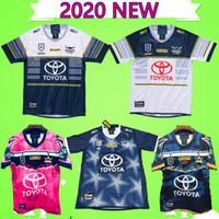 vaquero australia al por mayor-S-5XL 2020 New North Queensland Cowboys Rugby Jersey Hombres Defensa Indígena jerseys Johnathan Thurston 2019 Testimonio Australia NRL