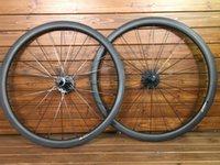 karbonlu yol bisikleti boyalı toptan satış-2019 Özel boyama 38mm-25mm genişlik U şekli UD mat finish karbon yol bisikleti jantlar tekerlek Novatec 291 hub XDB DPD nakliye