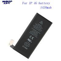 iphone batteriekapazität großhandel-NEU für iphone 4 4S 5 5S 5C SE 6 6S 7 Batterie Handy Ersatzbatterien mit hoher Kapazität