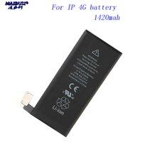 substituição de bateria para o iphone 5s venda por atacado-NOVO para o iphone 4 4s 5 5s 5C SE 6 pilhas 6s 7 bateria de telefone celular de substituição de alta capacidade